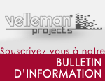 Velleman Projects Bulletin d'information