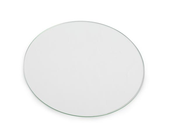 "Round Glass Panel For 3d Printer (> 210 X 4 Mm / ? 8.27"" X 0.16"")"