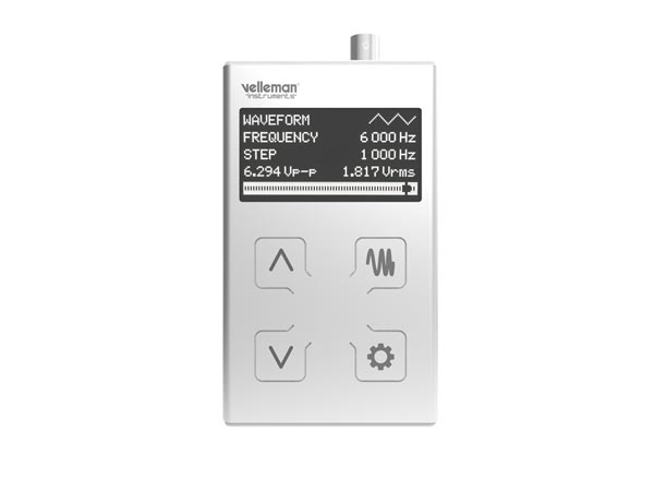 1 MHz Pocket Function Generator
