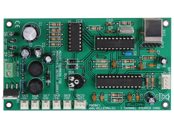 1 Channel USB Motor Card