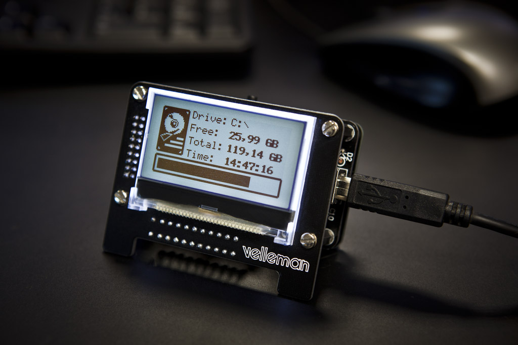 USB Message Board