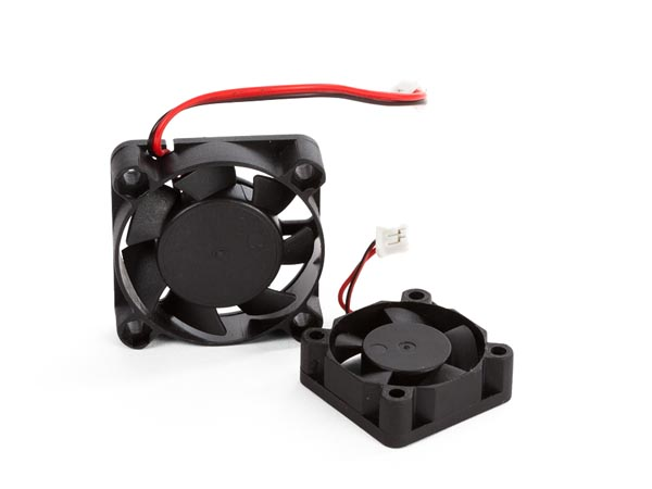 COOLING FAN SPARE PART SET 2 FOR VERTEX DELTA 3D PRINTER (ASSEMBLED BASE AND PRINT HEAD)