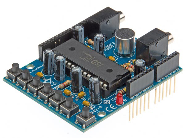 Velleman Modules VMA02: AUDIO SHIELD FOR ARDUINO® – Velleman