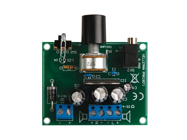 2x5w Stereo Audio Amplifier Based Ta7227