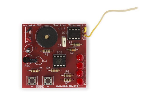 Madlab Electronic Kit - Junior Themerin