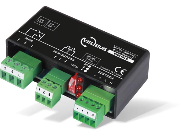 Single Channel Blind Control Module For Universal Mounting