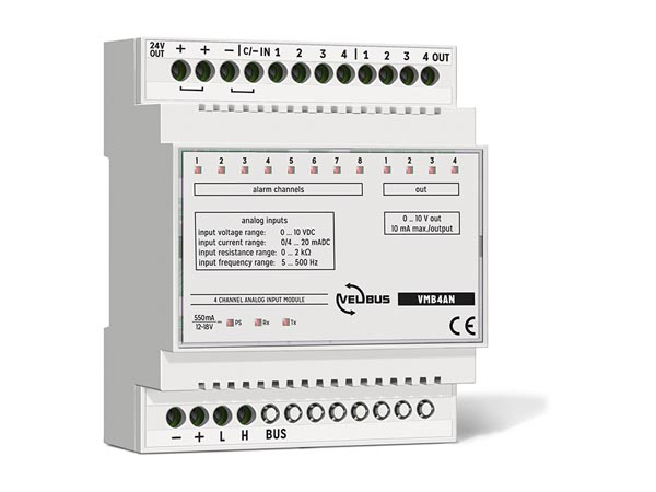 4-channel Analog Input Module