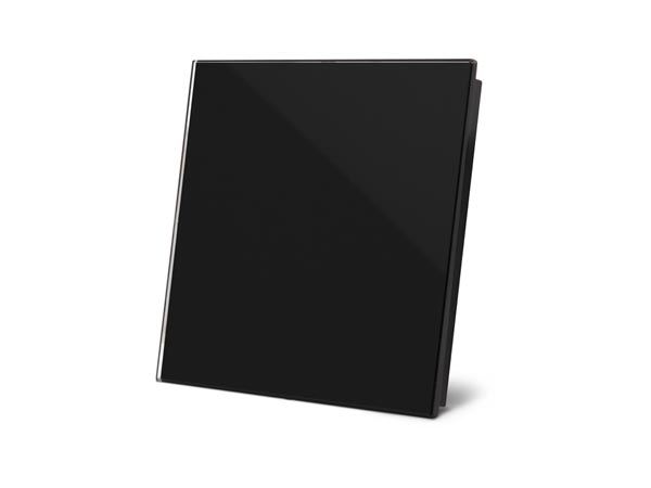 1-bg - Edge Lit Control Module With 1 Touch Key - Glossy Black Edition