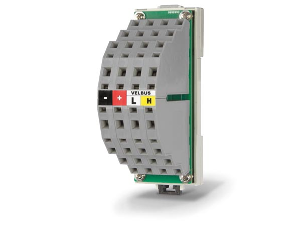 Din Rail Distribution Terminal Block For Bus Cables