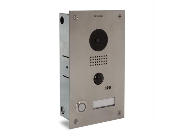 Doorbird Based Videophone Recessed Mounting