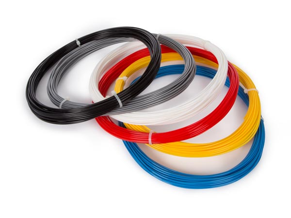 "1.75�Mm�(1/16"") Abs Filament Assortment - 6 Colours - For 3d Printer And 3d Pen"