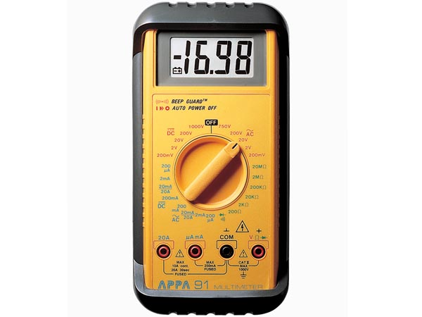 Appa 91 Rugged Industrial Meter