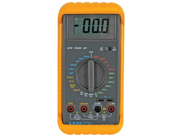 Appa 93n Rugged Industrial Meter