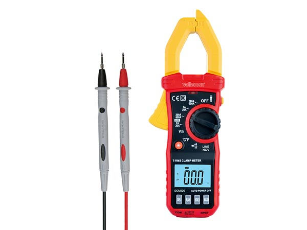 DIGITAL CLAMP METER - CAT III - 600 V - AC - NCV -