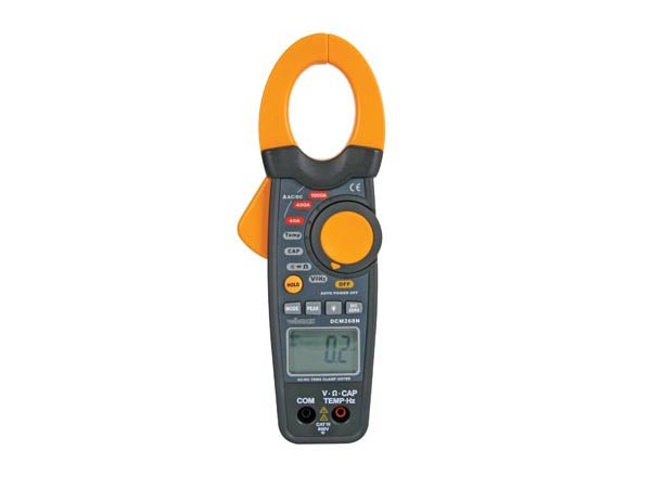 AC/DC TRUE RMS CLAMP METER