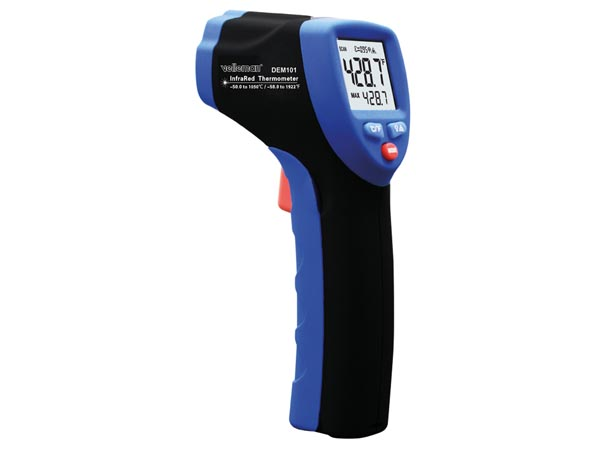 HIGH TEMPERATURE INFRARED THERMOMETER (-50 °C to +1050 °C)