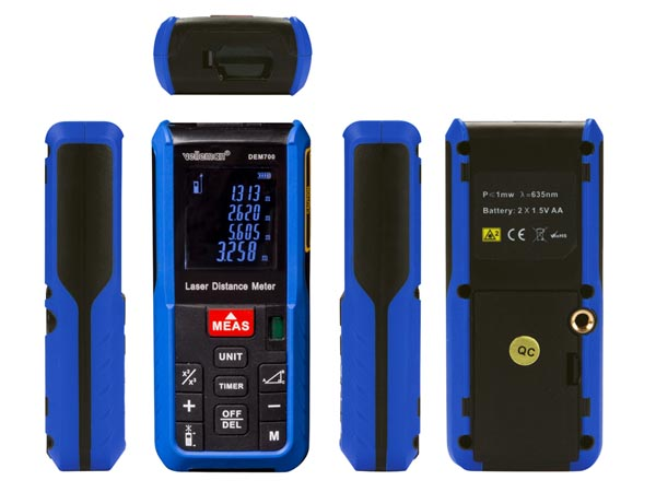 DIGITAL LASER DISTANCE METER - 60 m