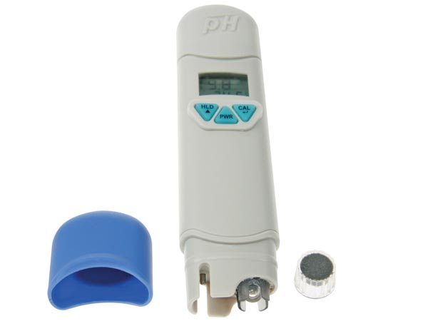 Ph metre phmetre testeur digital eau plantes serre piscine for Ph metre piscine
