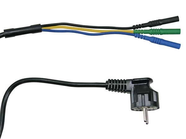 POWER CORD FOR POWER LINE MEASUREMENTS
