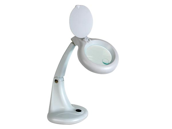 Lampe-loupe 3 + 12 Dioptries - 12w - Blanc