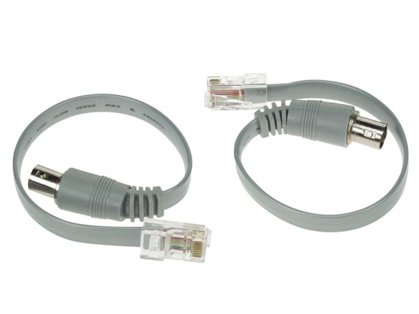 SPARE CABLE (2PCS) FOR VTLAN3 - MAIL BNC TO RJ45