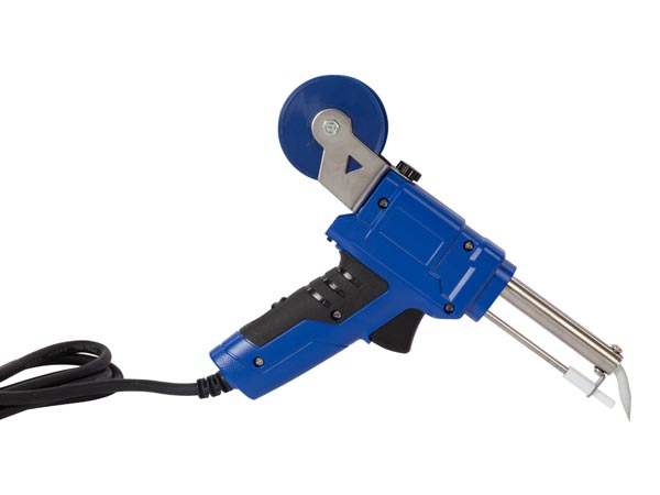 SOLDERING GUN WITH AUTO FEED - 30/60 W SELECTABLE