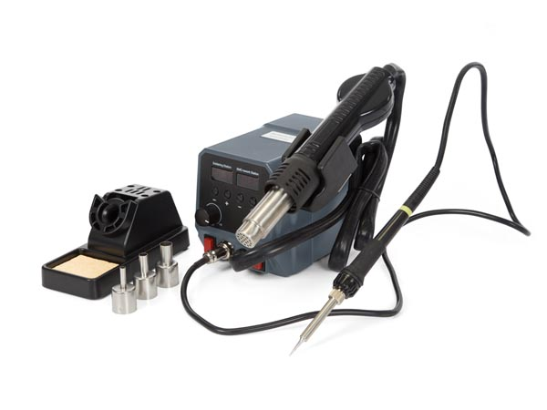 2-in-1 SMD HOT AIR REWORK STATION