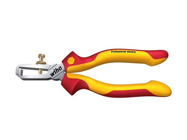 WH26847 - WIHA - VDE/GS INSULATED 1000V AC STRIPPING PLIER PROFESSIONAL ELECTRIC - 160mm - Z55006