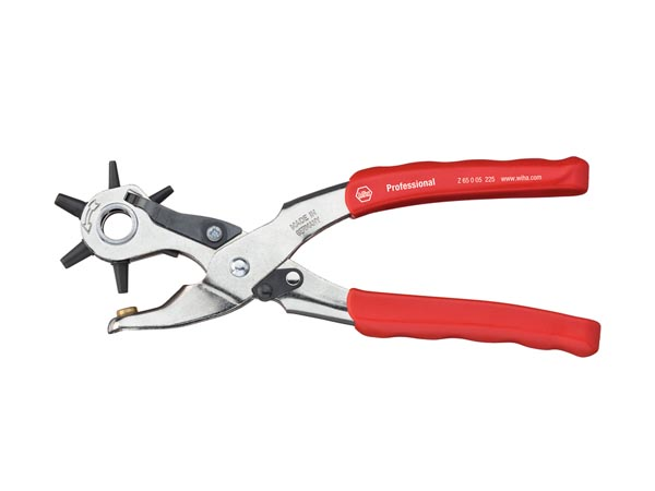 Professional Revolving punch pliers, 225mm - WIHA - Z65005