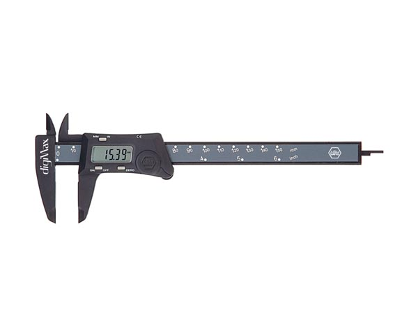 Wiha Callipers digiMax digital Reading 0.01 mm (29422) 150 mm