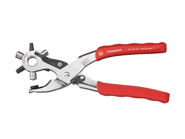 Professional Revolving Punch And Loop Pliers 225mm