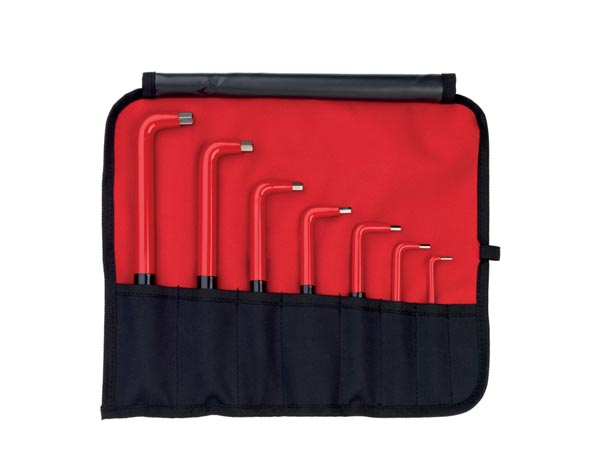 INSULATED L-KEY SET - 7 pcs  - WIHA - 352NS7