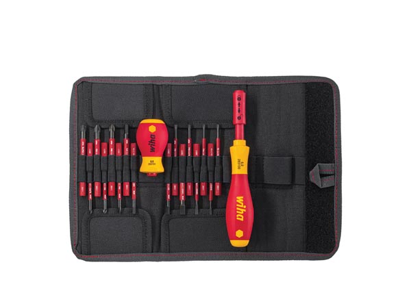 WIHA - VDE SLIM VARIO STARTER SCREWDRIVER SET - 16 pcs - 2831T18