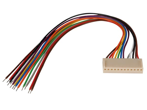 BOARD TO WIRE CONNECTOR - FEMALE - 12 CONTACTS / 20cm