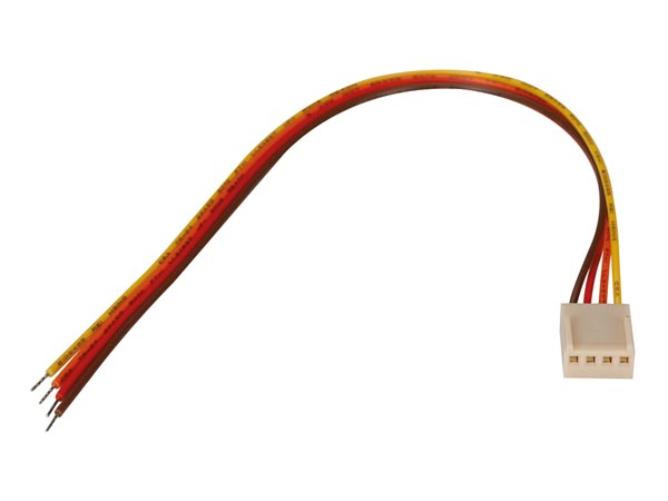 BOARD TO WIRE CONNECTOR - FEMALE - 4 CONTACTS / 20cm