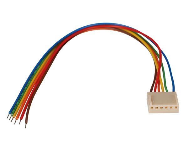 BOARD TO WIRE CONNECTOR - FEMALE - 6 CONTACTS / 20cm