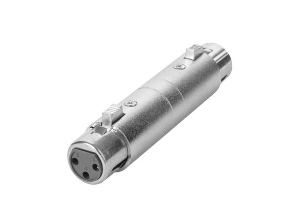 3P XLR - FEMALE to FEMALE