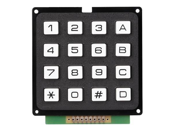 Keypad 16 Keys Matrix Output / Blister