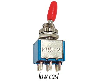 T8011  Toggle Switch 2p On-on - Low Cost