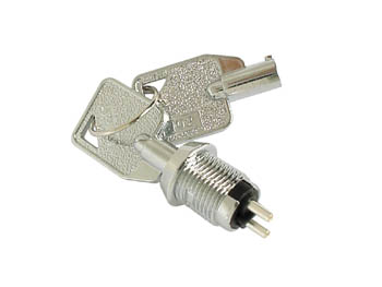 KEY SWITCH 1P OFF-ON (SPST)