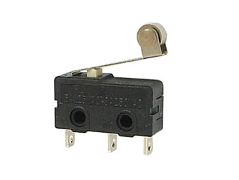 MICROSWITCH 5A, LEVER WITH LONG ROLLER