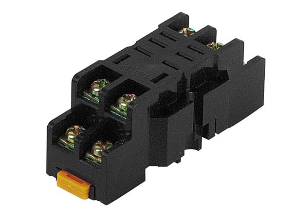 Socket For Heavy Duty Relay - 8 Pins - 10a