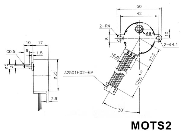 4 Wire Stepper Motor Diagram
