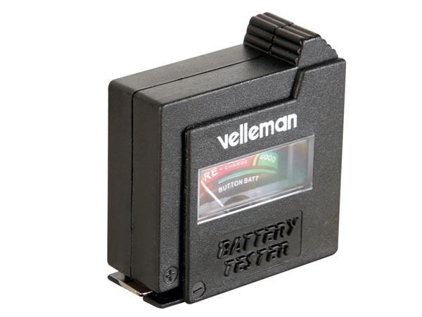 VELLEMAN POCKET BATTERY TESTER