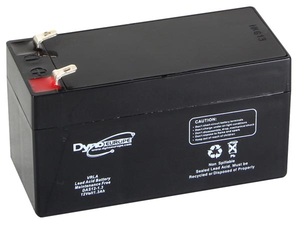 Lead Acid Battery 12v-1.3ah 96.5x45x59mm
