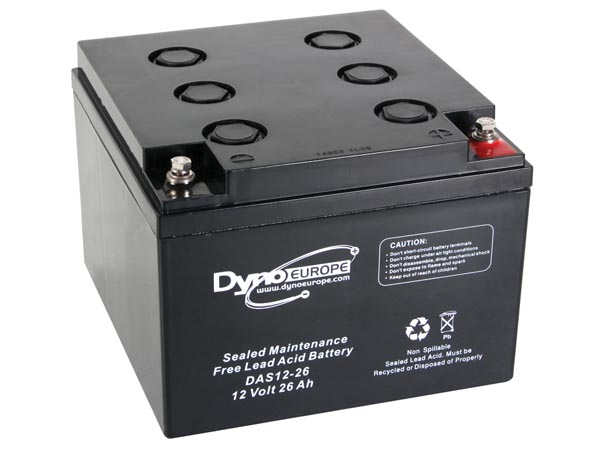 Lead Acid Battery 12v-26ah 165x174.5x125mm