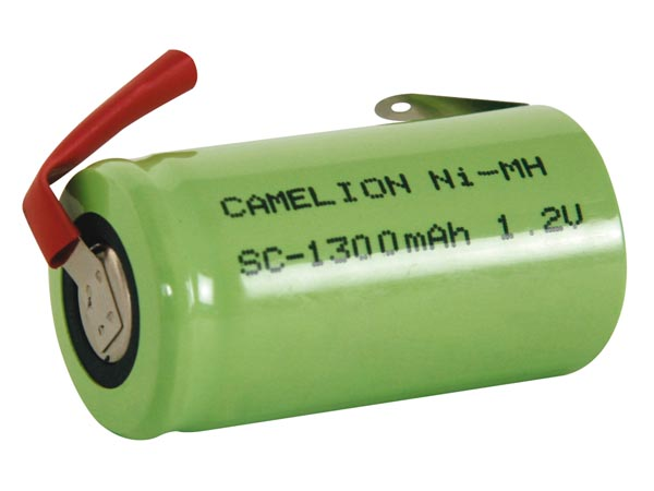 NI-MH CELL 1.2V-1.3Ah WITH SOLDER TAGS (bulk)