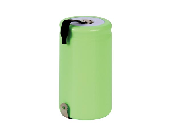 NI-MH CELL D 1.2V-6000mAh WITH SOLDER LIPS