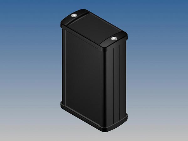 ALUMINIUM HOUSING - BLACK - 100 x 59.9 x 30.9 mm -