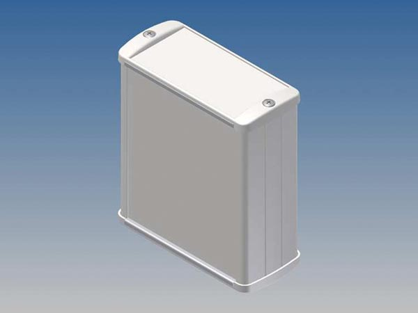 ALUMINIUM HOUSING - WHITE - 100 x 85.8 x 36.9 mm
